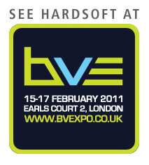 See HardSoft at BVE 15-17 February 2011 logo