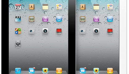 2 iPad colour options side by side