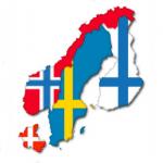 Scandinavian Map