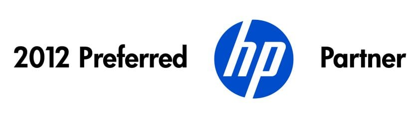 2012 Preferred HP Partner banner