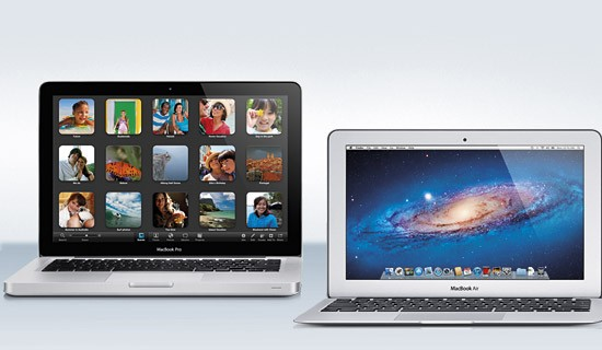 Macbook air and pro 2012