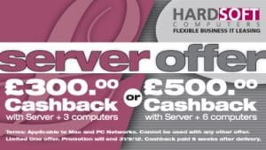 HardSoft  are leasing servers with a cashback offer