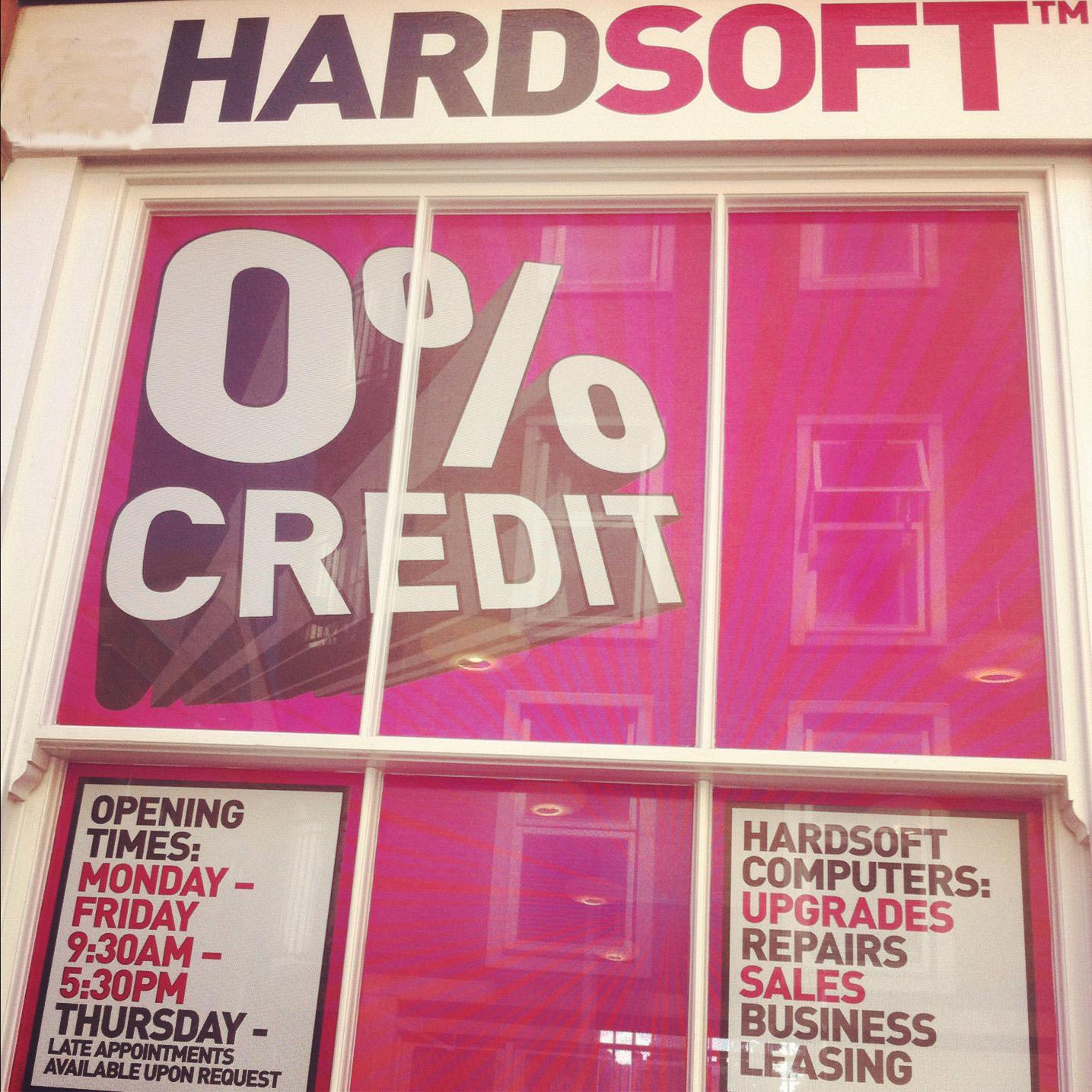 HardSoft Shop Front