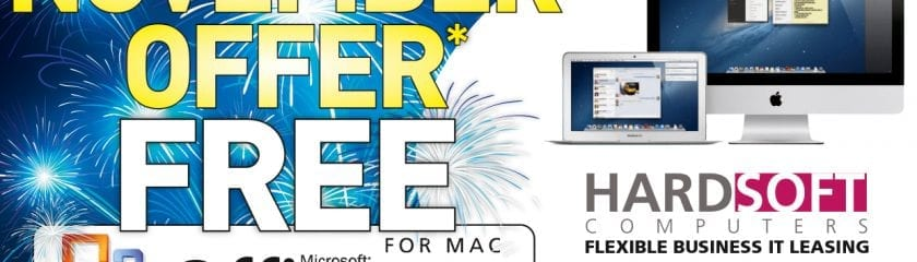NOVEMBER OFFER* FREE MICROSOFT OFFICE 2011 FOR MAC!