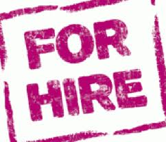 For Hire Logo