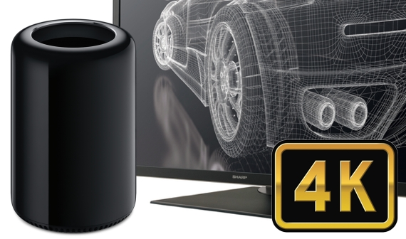 mac pro 4k displays to lease