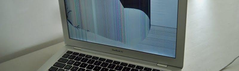 Broken Apple Laptop