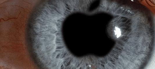 eyes on apple