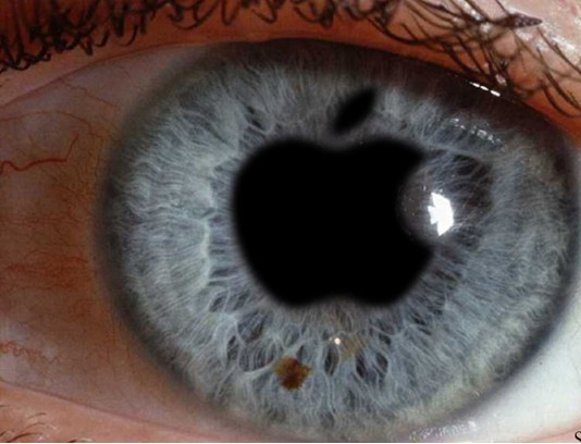 eyes on apple