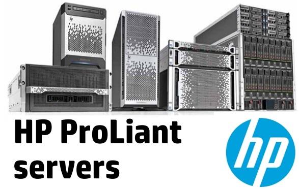 HP servers RAID arrays