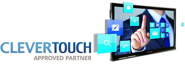 CleverTouch Approved Partner Banner