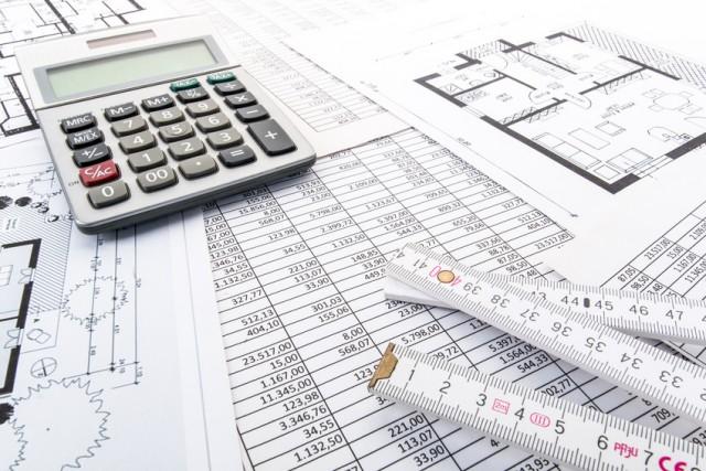 Calculator on spreadsheets