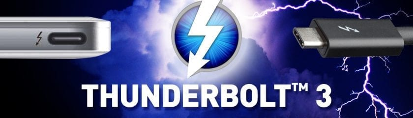 Thunderbolt 3 Illustration