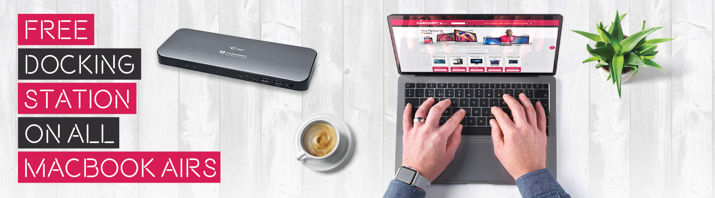 """Grab yourself a FREE i-Tec Docking Station with any & all MacBook Pro 15"""" or MacBook Air Lease!"""