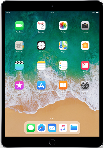iPad iOS11 Files