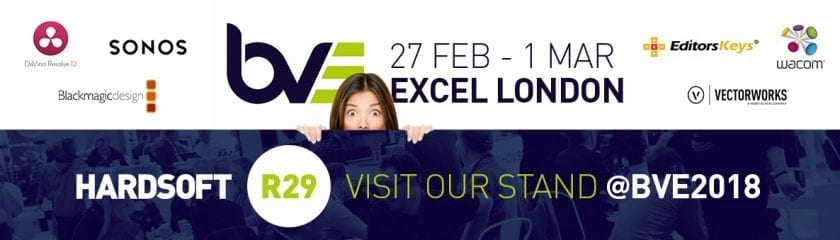 Woman peering over a wall with advertisement of the BVE hosted at 27th Feb - 1st March at the Excel London
