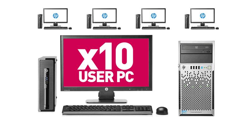 10 User PC Desktop Network