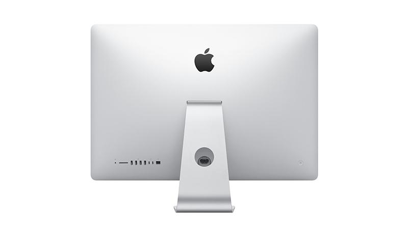 "Apple iMac 21.5"" Rear View"