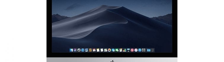 """Apple iMac 21.5"""" Front View"""