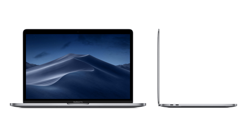 "MacBook Pro 13"" Apple NoteBook FRONT & SIDE-VIEW"