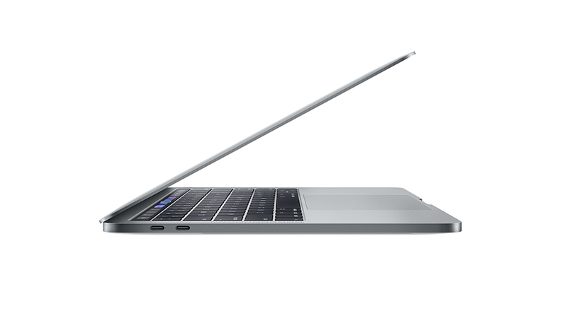 """MacBook Pro 13"""" with Touchbar Apple Notebook SIDE-VIEW"""