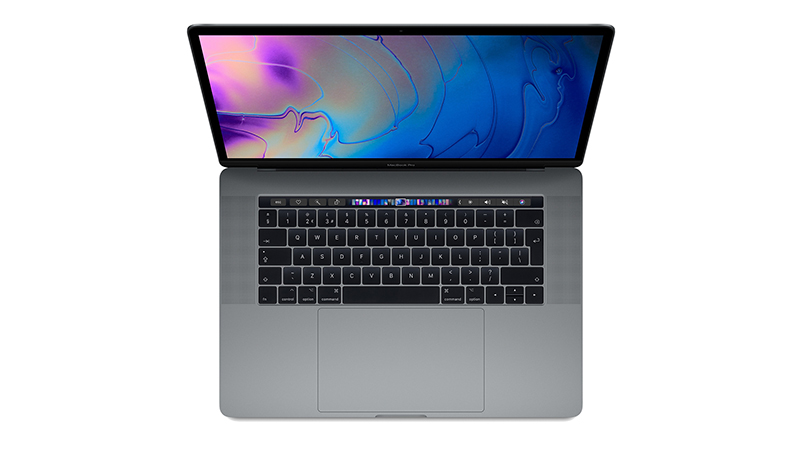 "MacBook Pro 15"" with Touch Bar FRONT-VIEW"