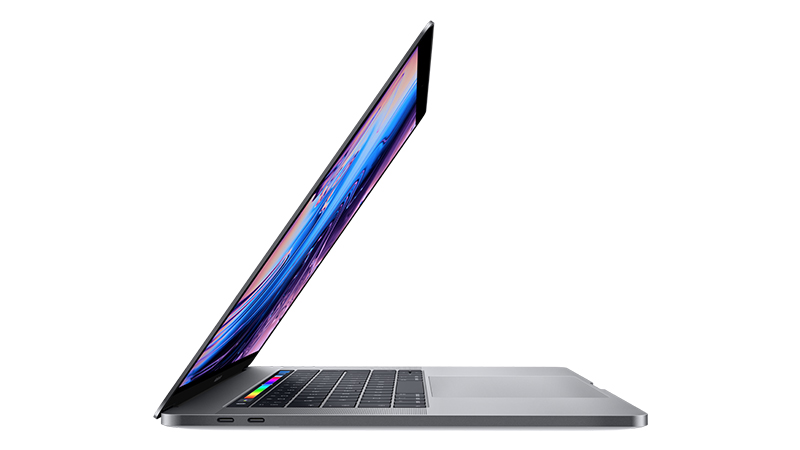 """MacBook Pro 15"""" with Touch Bar SIDE-VIEW"""