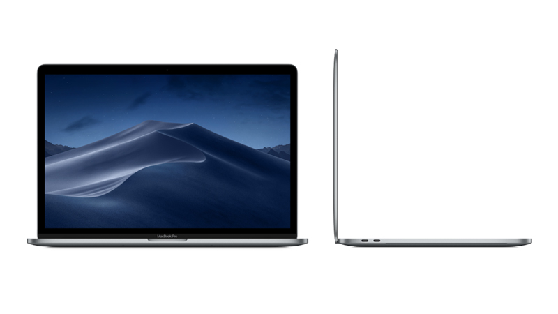 """MacBook Pro 15"""" with Touch Bar FRONT & SIDE-VIEW"""