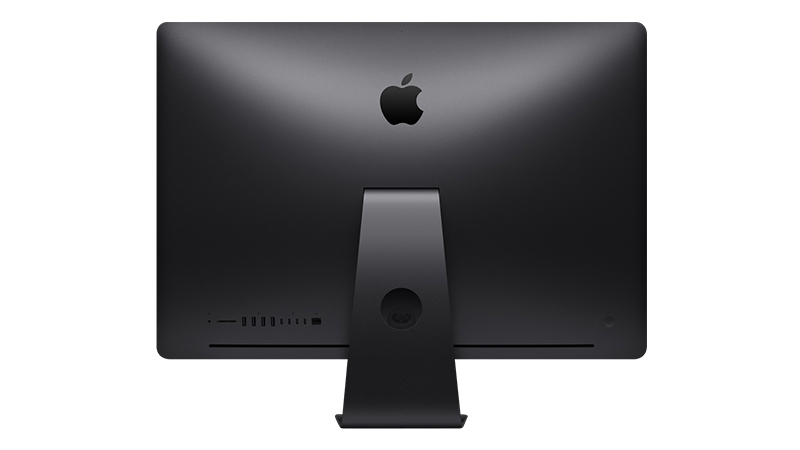 iMac Pro Apple All in one desktop REAR-VIEW