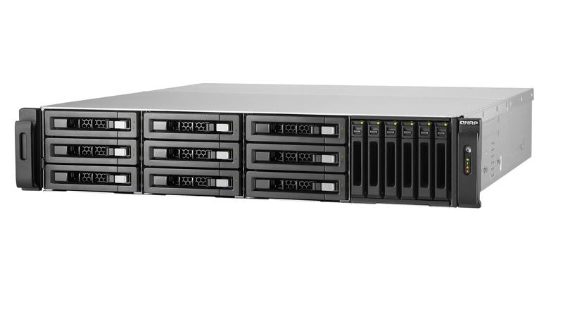 QNAP TVS-1582TU NAS Rack Ethernet LAN Black
