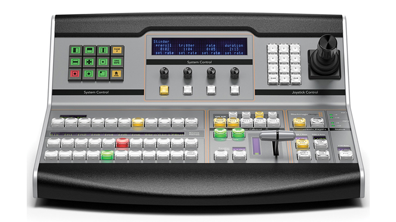 BlackMagic ATEM 1 M/E Broadcast Panel