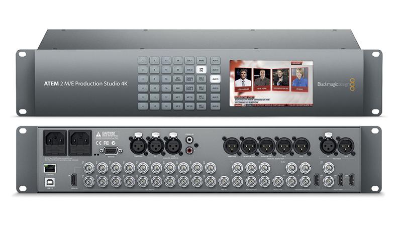 BlackMagic ATEM 2 M/E Production Studio 4K
