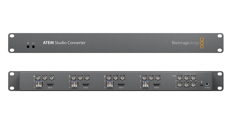 The BlackMagic ATEM Studio Converter,