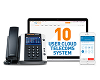 10 User Cloud Telecoms System