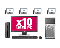 10 User PC Desktop Network