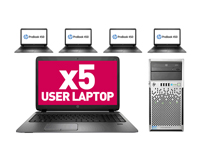 5 User PC Laptop Network