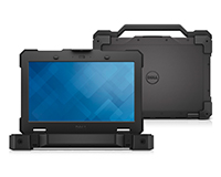 "Dell Latitude 14"" Rugged Front View"