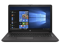 Front-Facing HP 250 G5 Laptop, Open, with Windows 10