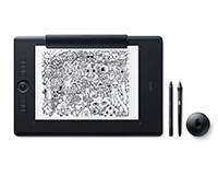 Wacom Intuos Pro 'Paper Edition' 5080lpi USB/Bluetooth Black graphic tablet