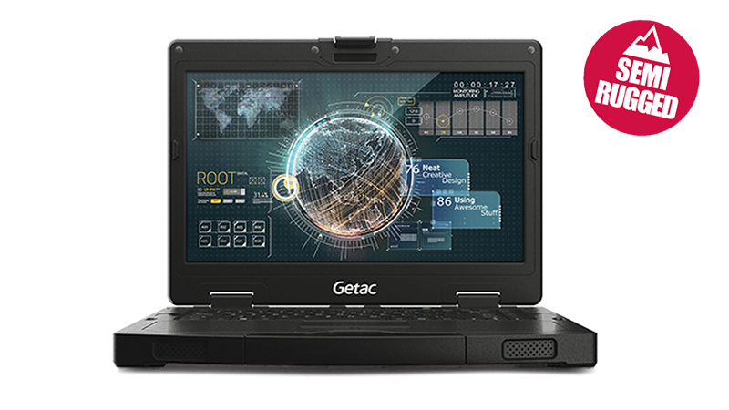 Lease the Getac S410 Semi-Rugged Laptop