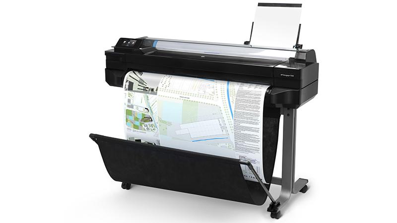 "HP Designjet T520 - 24"" Paper Size"