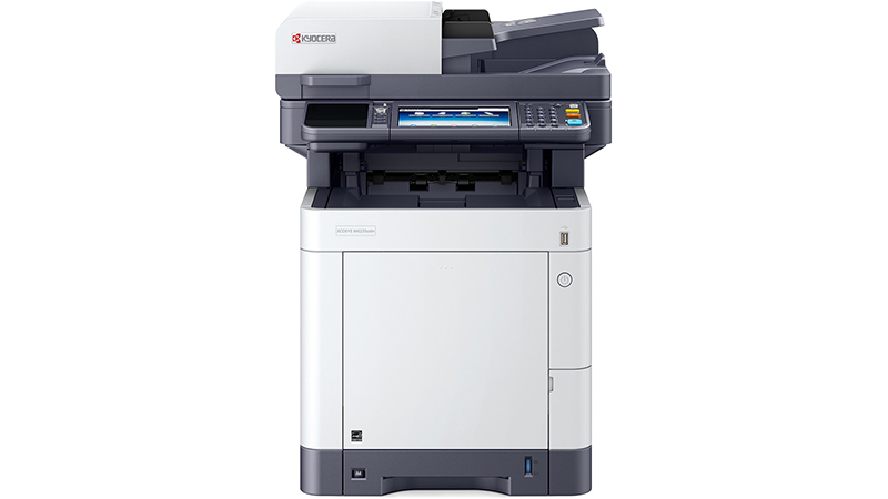 Kyocera ECOSYS M6235cidn A4 Colour Multifunction Laser Printer front view