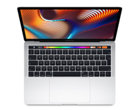 "MacBook Pro 13"" with Touchbar Apple Notebook FRONT-VIEW"