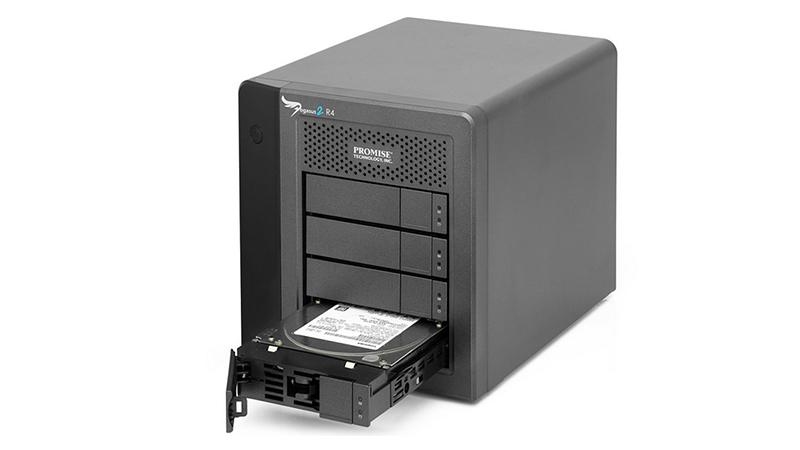 Promise Pegasus2 Thunderbolt 2 Desktop RAID Storage Desktop Storage Solution