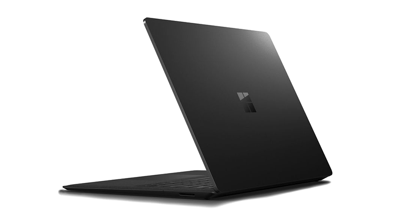 Surface Laptop 2 Top cover view