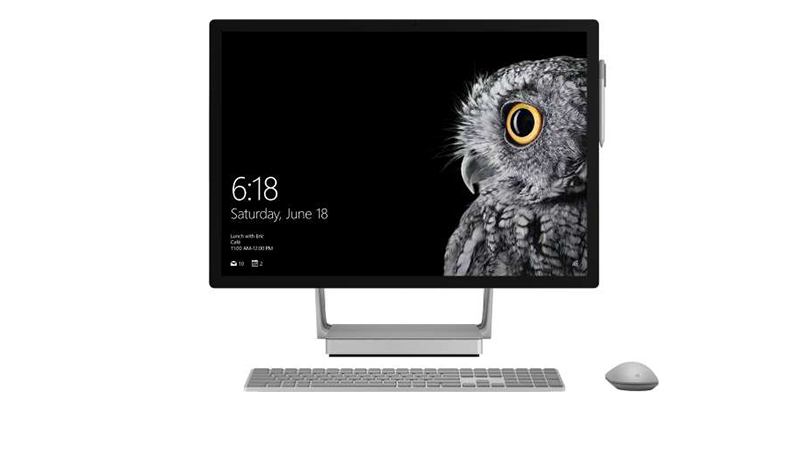 Microsoft Surface Studio & mouse FRONT-VIEW
