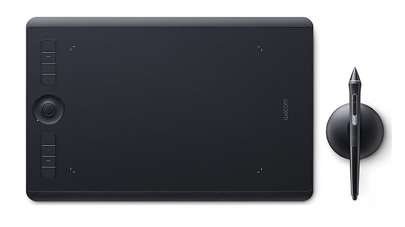 Wacom Intuos Pro 5080lpi USB/Bluetooth Black graphic tablet