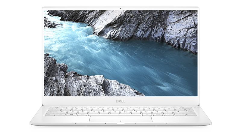 "Open front view of the Dell XPS 13"" 9380"