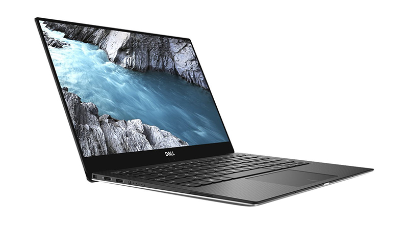 Side view of the Dell XPS 13-9380