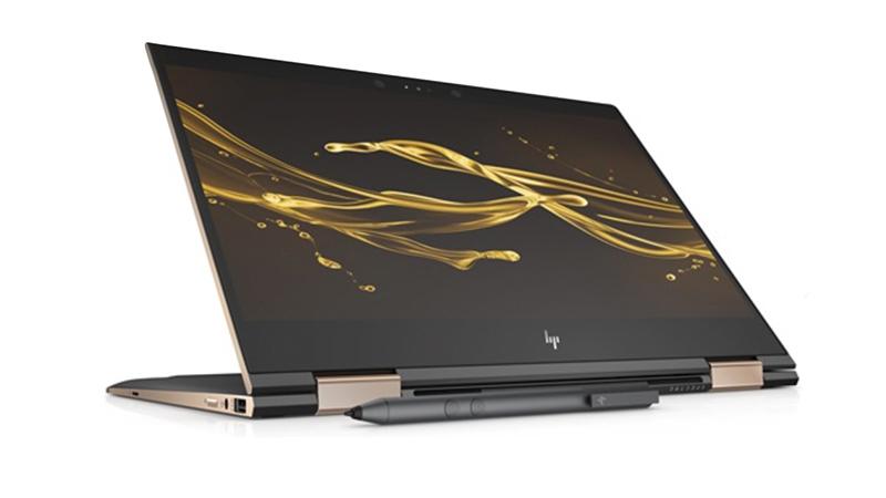 HP Spectre X360 Convertible Laptop Front View